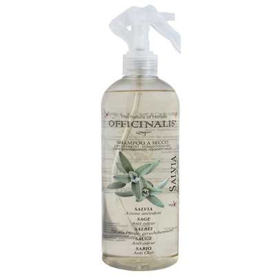 Shampoo a secco Salvia